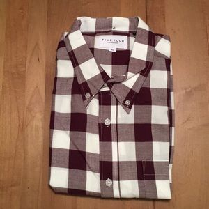 Five Four long sleeve casual collared shirt